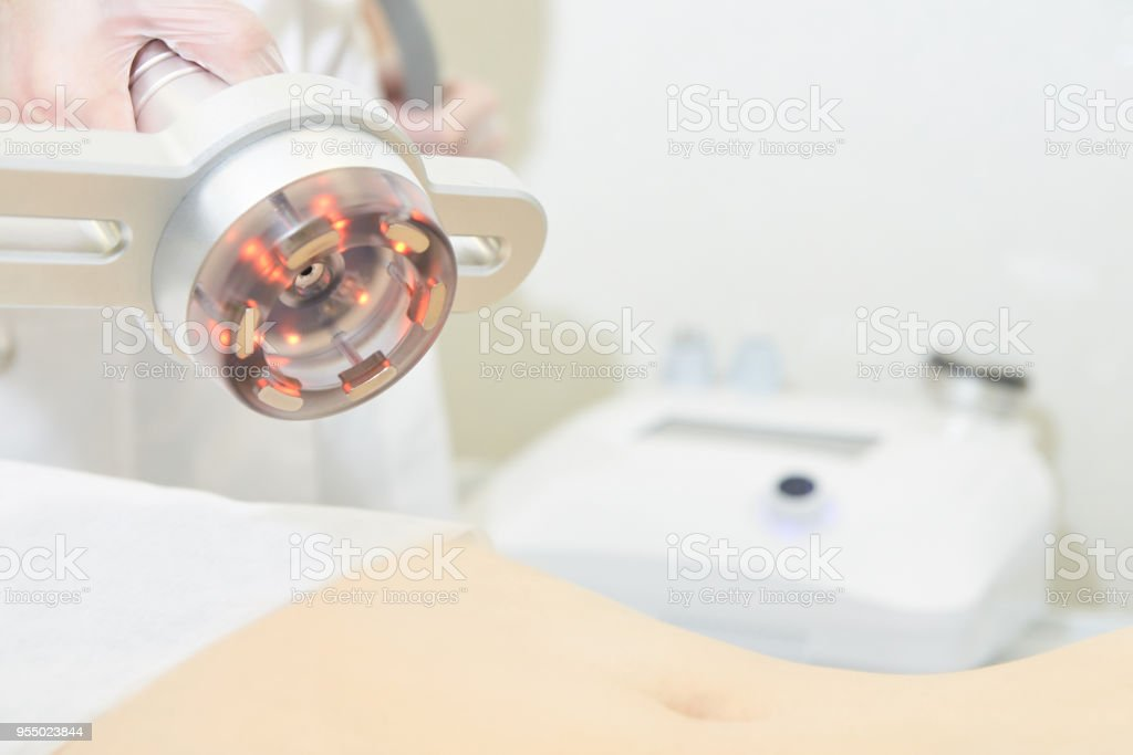 Equipment for body, stomach stock photo