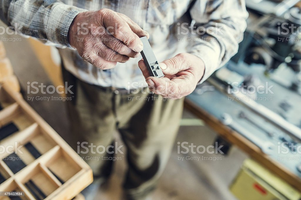 Equipment for engraving stock photo