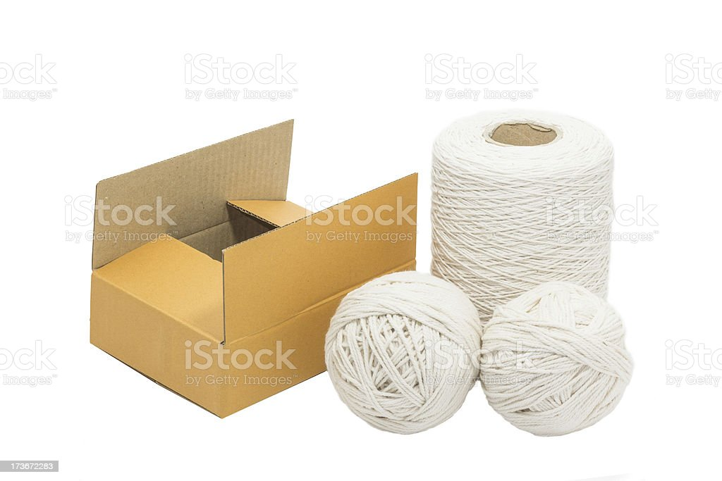 equipment for packing the box royalty-free stock photo