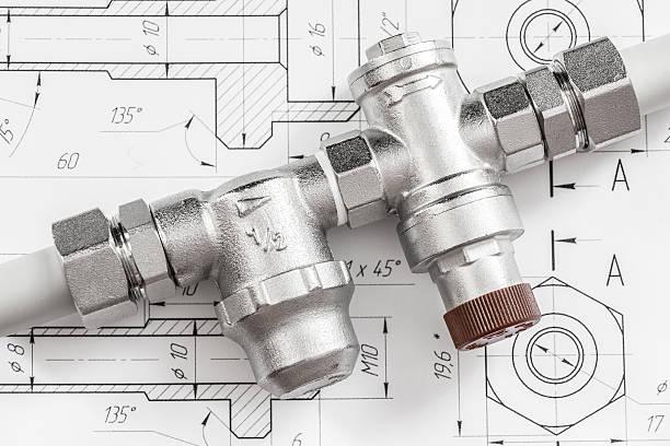 equipment for plumbing - verstellbar stock-fotos und bilder