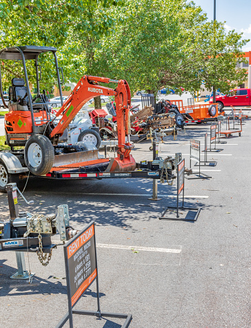 Equipment For Rent At Home Depot Stock Photo Download Image Now Istock