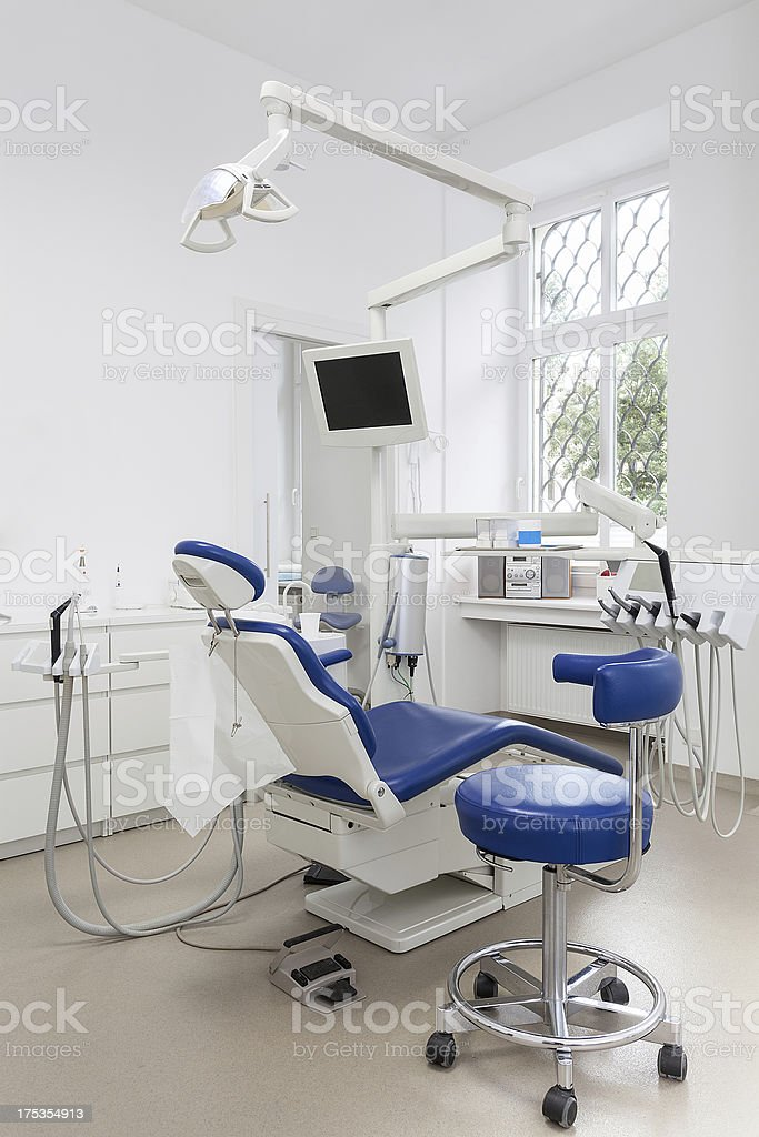 Equipment in dental office royalty-free stock photo