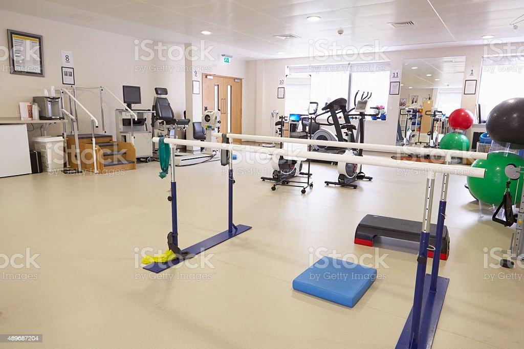 Equipos de vacío Physiotherapy Departamento de Hospital - foto de stock