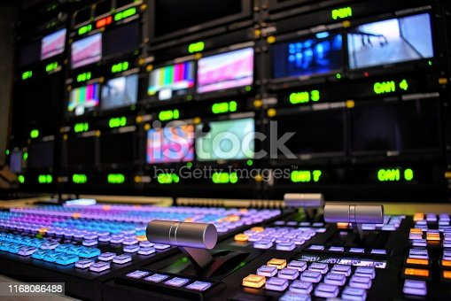 Equipment for producing television programs and broadcasting.