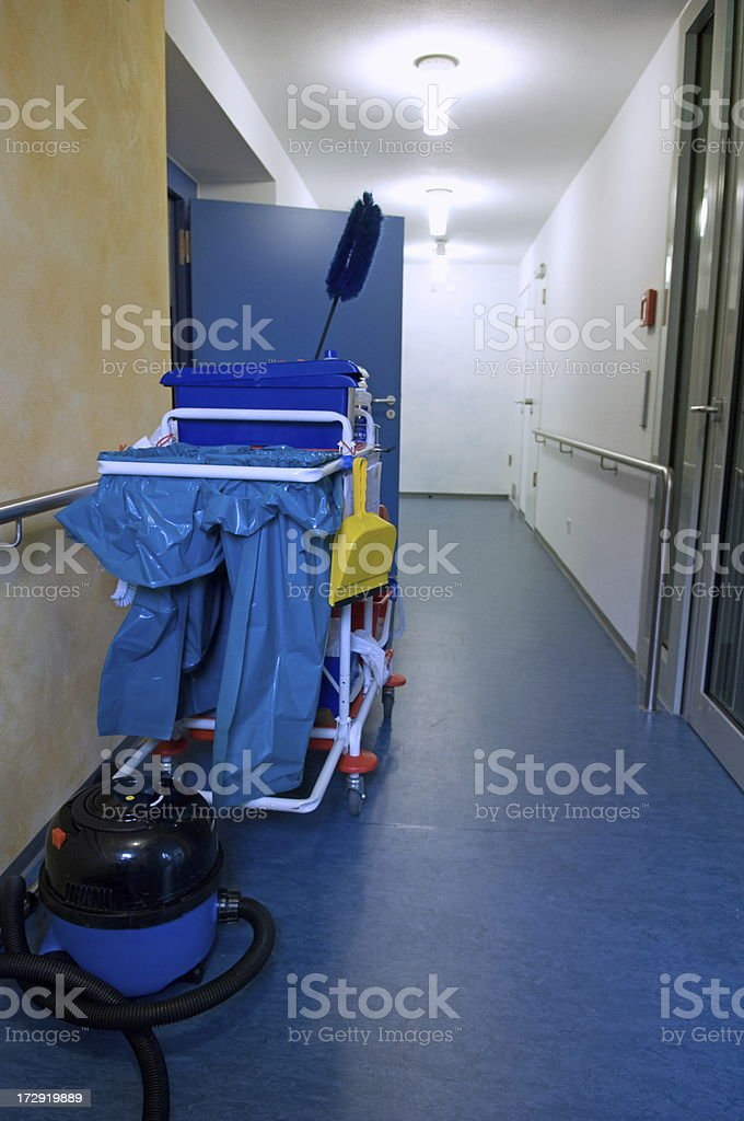 Equipment of a cleaner royalty-free stock photo