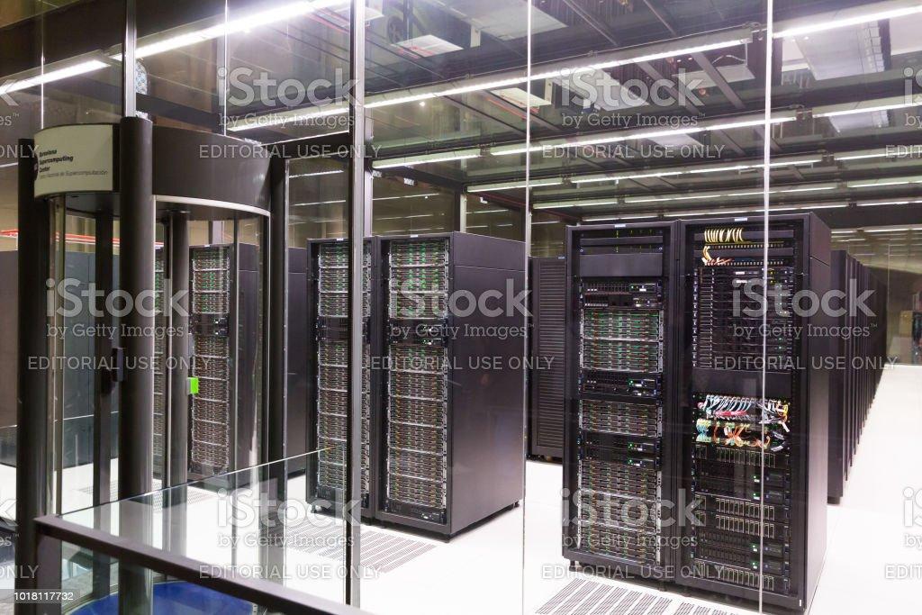 High-technology equipment of Barcelona Supercomputing Center