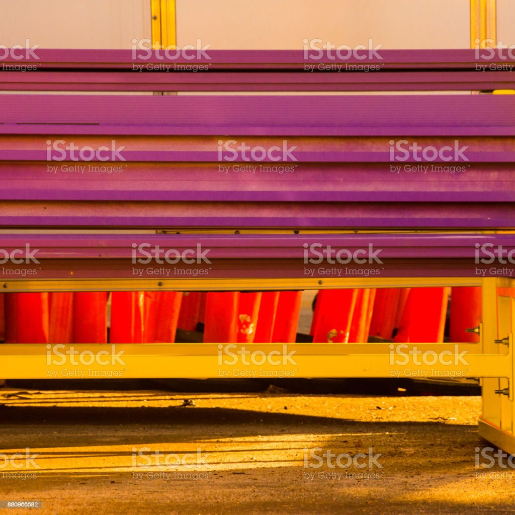 Equipment Patterns in Color stock photo