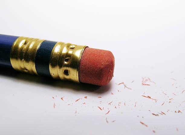 Eraser Dust stock photo