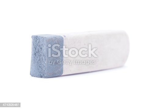istock eraser on a white background 474305461