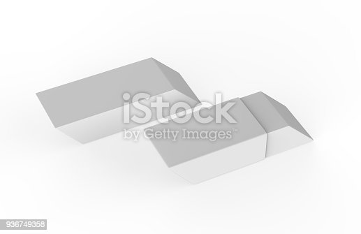 istock Eraser on white background 936749358