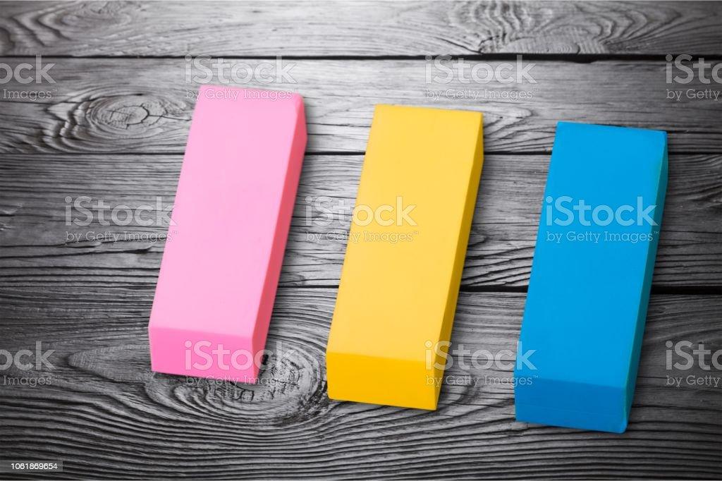 Eraser pink adjusting change correct deleting easer