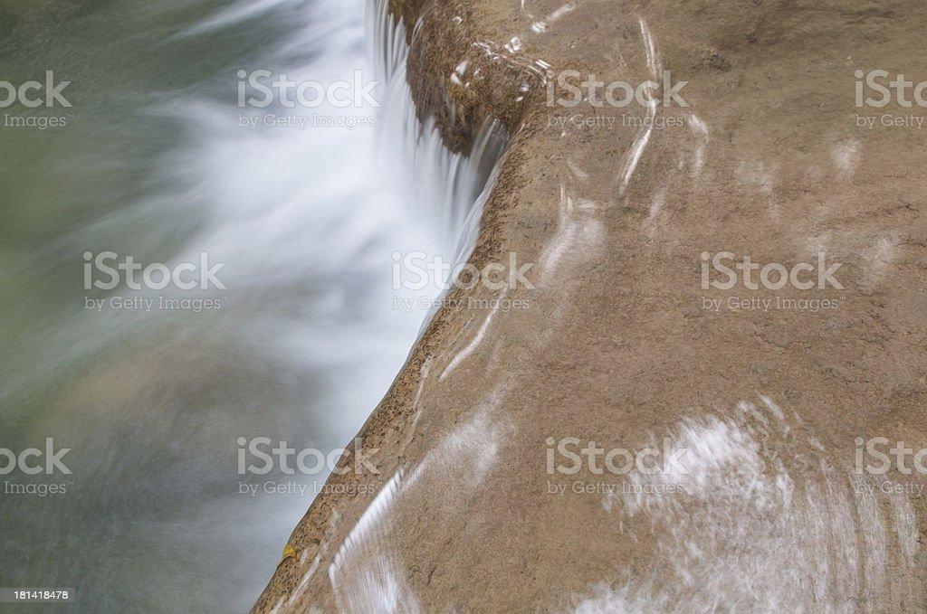 Erawan Waterfall at Kanchanaburi, Thailand royalty-free stock photo