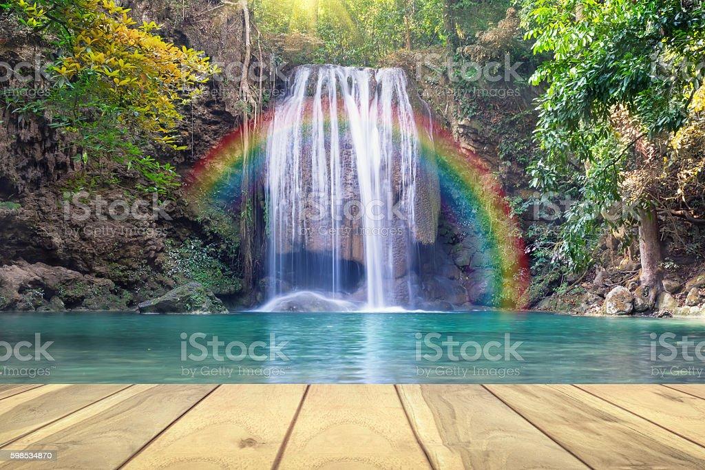 Erawan cascade Thaïlande photo libre de droits