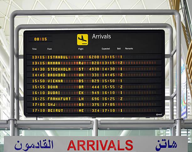 internationaler flughafen arbil, kurdistan, irak - kurdische sprache stock-fotos und bilder