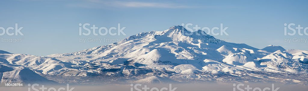 Erciyes Mountain royalty-free stock photo