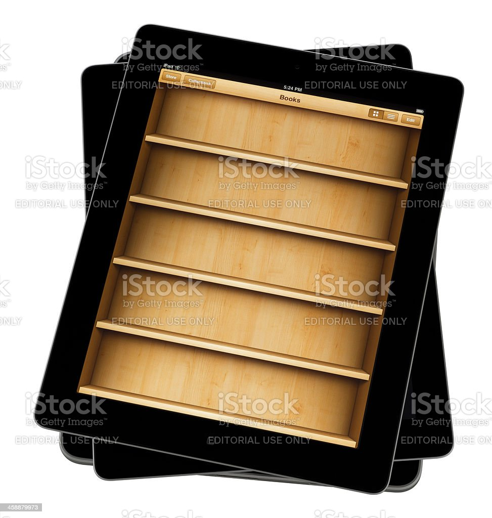 E-reader App. royalty-free stock photo
