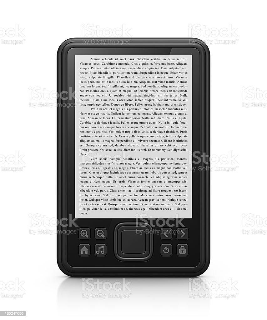 e-reader stock photo