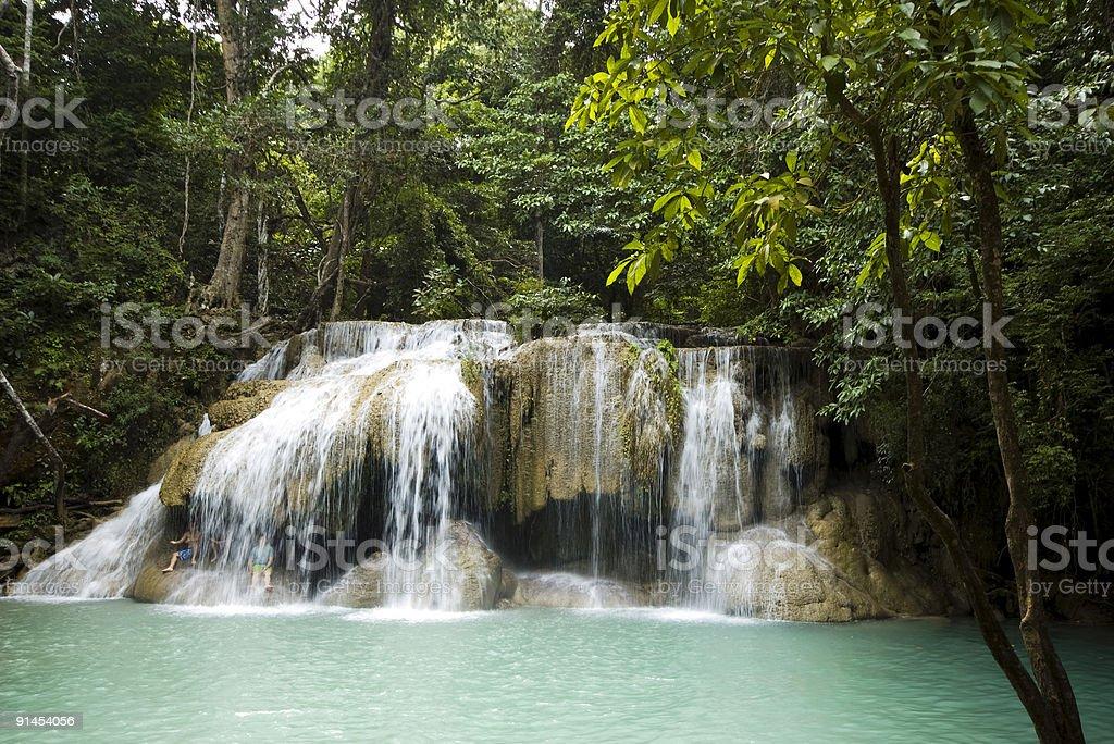 Erewan Falls royalty-free stock photo