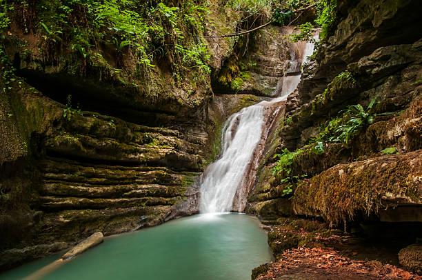 Erfelek Tatlica Waterfalls stok fotoğrafı