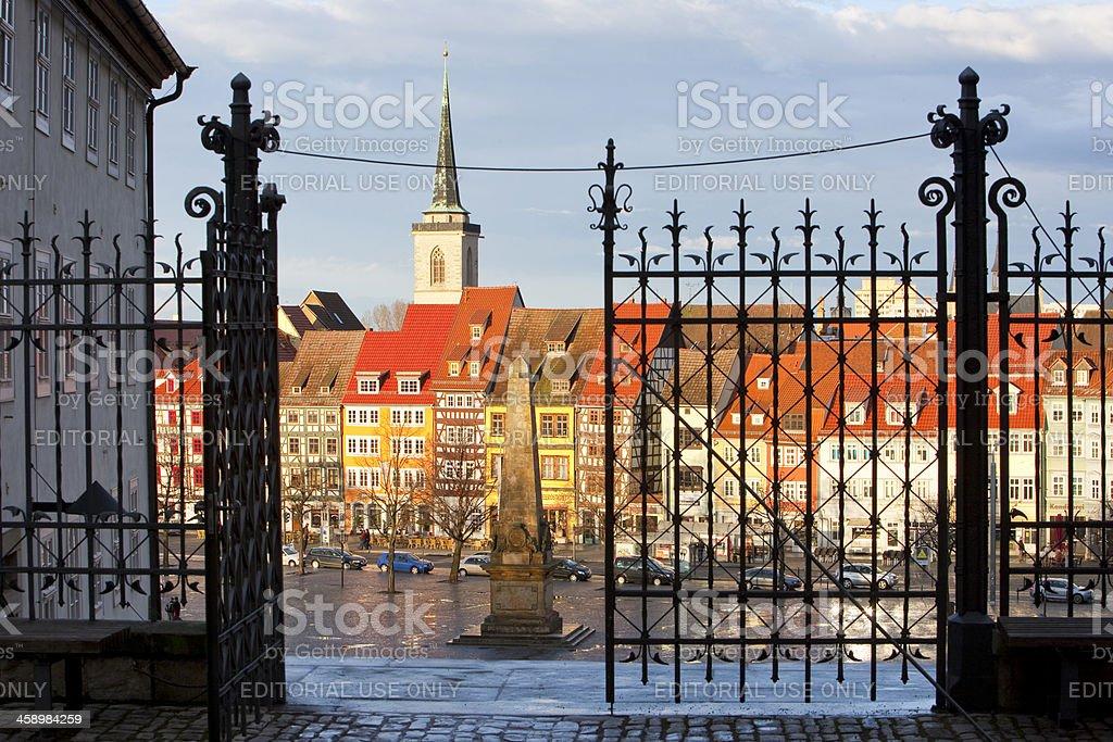Erfurt, Germany, Domplatz royalty-free stock photo