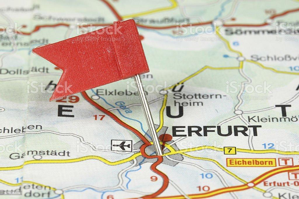 Erfurt royalty-free stock photo
