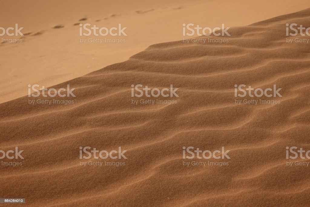 Erg Chebbi, Sahara desert, sand, texture royalty-free stock photo