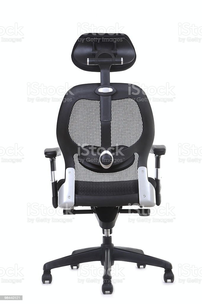ergonomic office chair (series) royalty-free stock photo