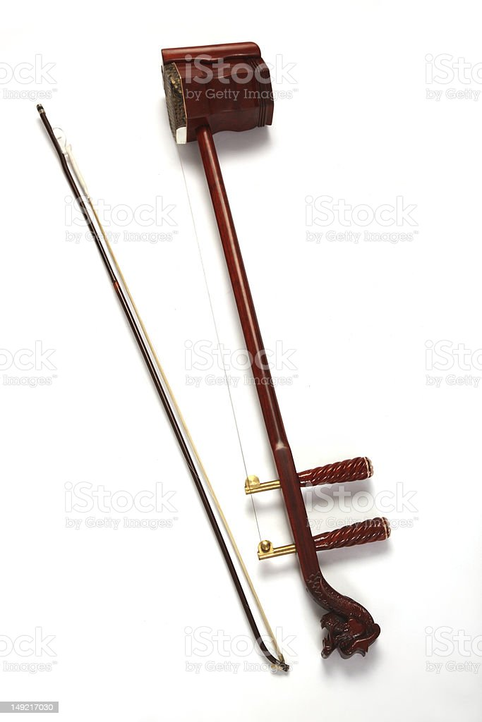 Erhu,close-up stock photo