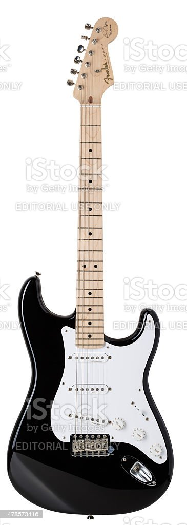 Eric Clapton 'Blackie' stratocaster stock photo
