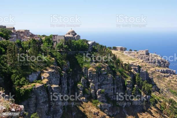Foto de Erice Na Sicília e mais fotos de stock de Antigo