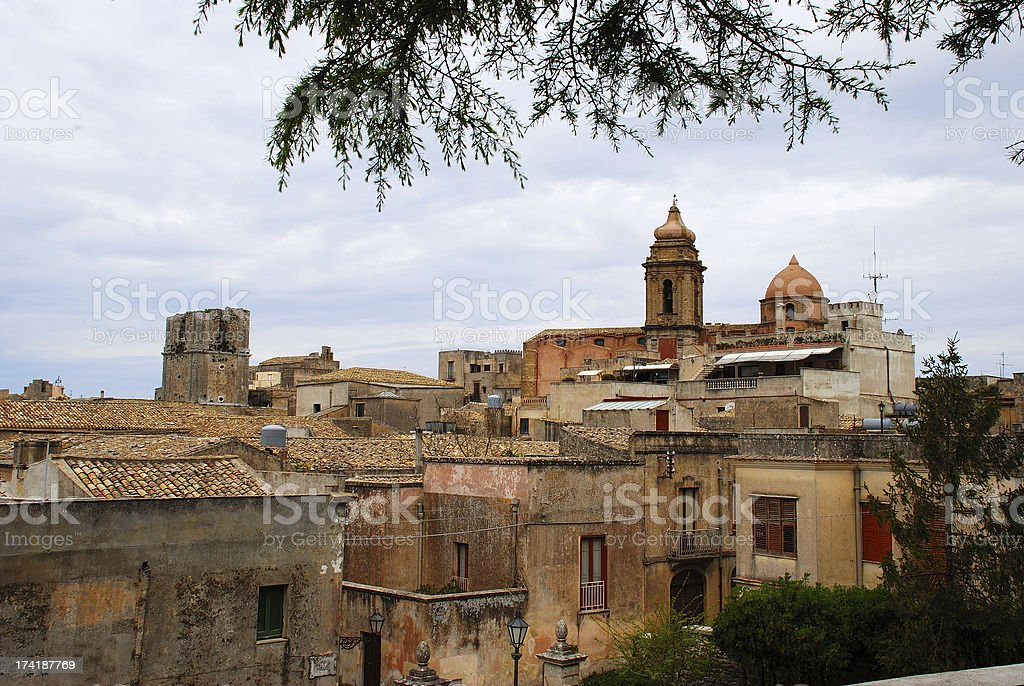 Erice royalty-free stock photo
