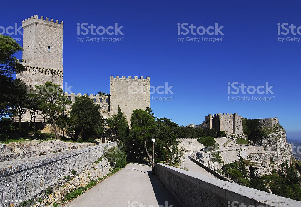 Erice, Sicily royalty-free stock photo
