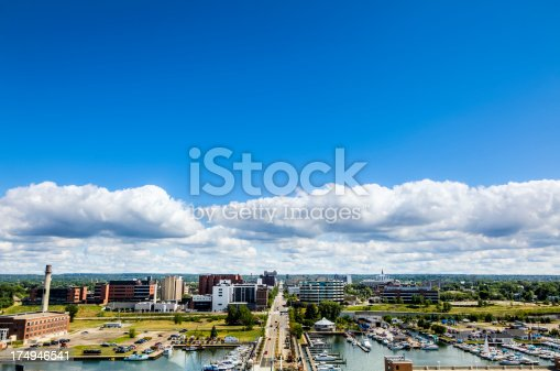 View of Erie Pennsylvania from Dobbins Landing Tower.I invite you to view some other  Images from across Pennsylvania: