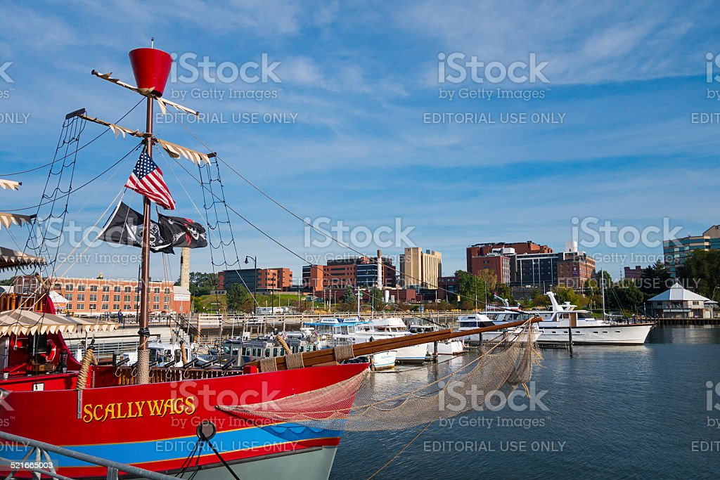 Erie, Pennsylvania, USA stock photo