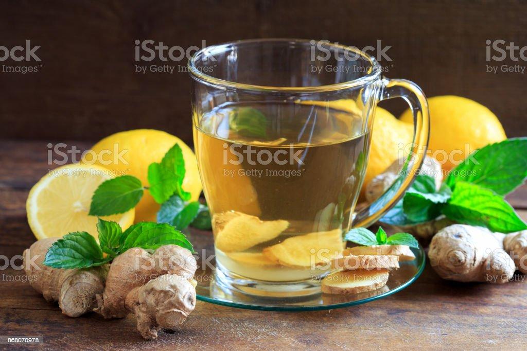 Erkältungstee stock photo