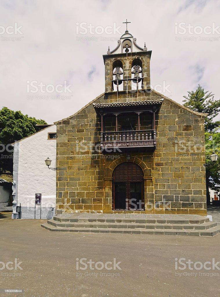 Ermita de las Nieves, 라팔마 royalty-free 스톡 사진