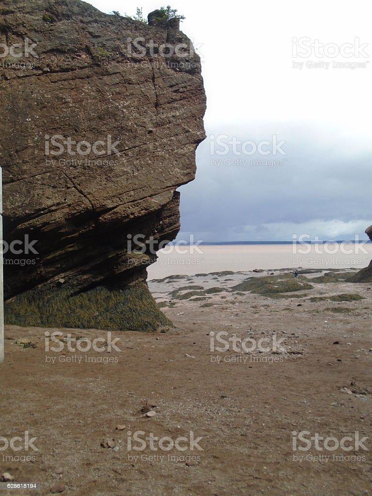 Eroded Rock stock photo