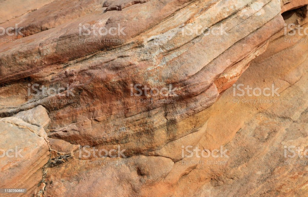 Eroded sandstone texture royalty-free stock photo