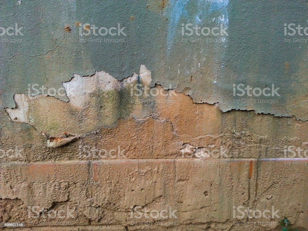 Eroded wall stock photo