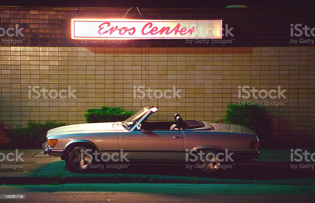 Eros Center stock photo