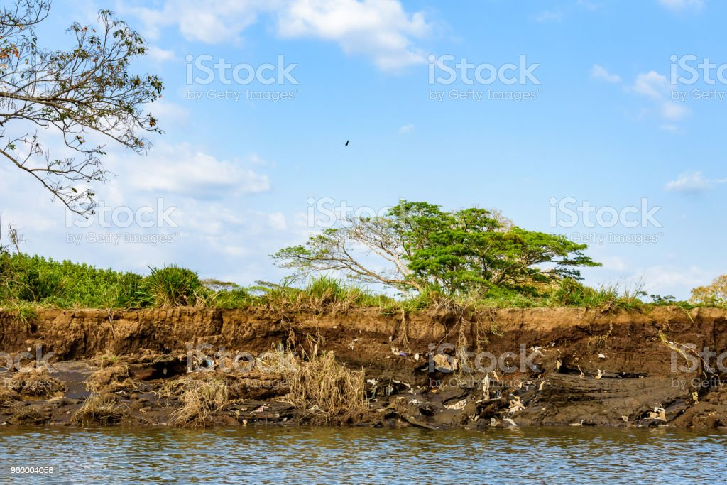 Erosion and pollution - Royalty-free Accidents and Disasters Stock Photo