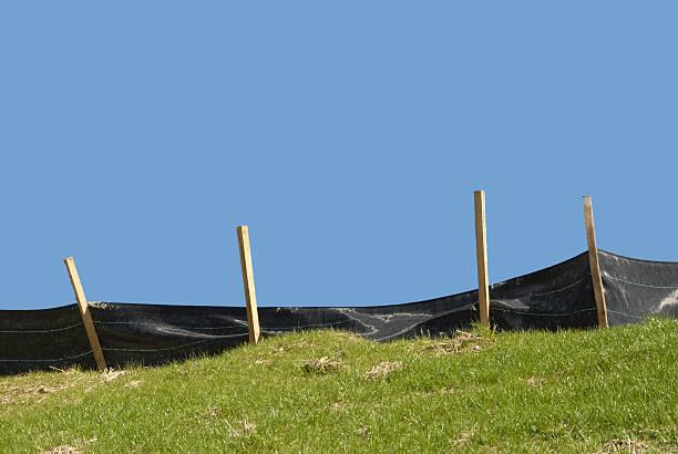 Erosion Control stock photo