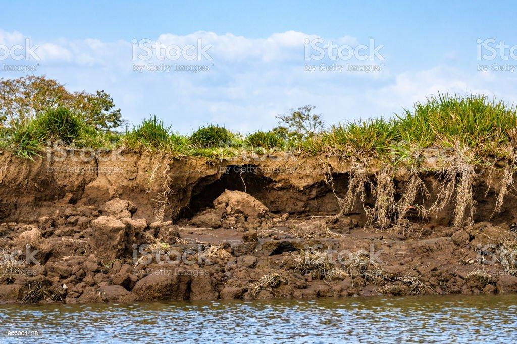 Erosionsschäden - Lizenzfrei Beschädigt Stock-Foto