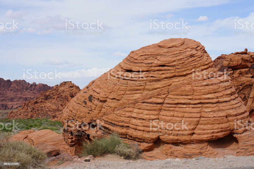 Erosion of Landform - Royalty-free Arid Climate Stock Photo