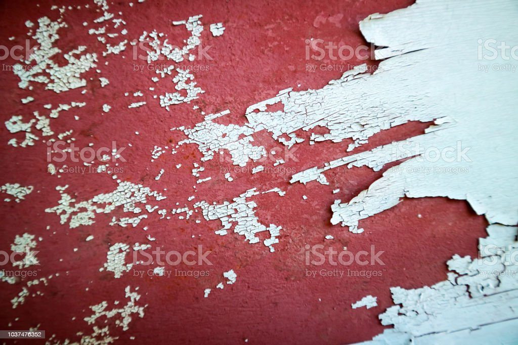 erosion on metal surface was damage by heat of sunlight stock photo