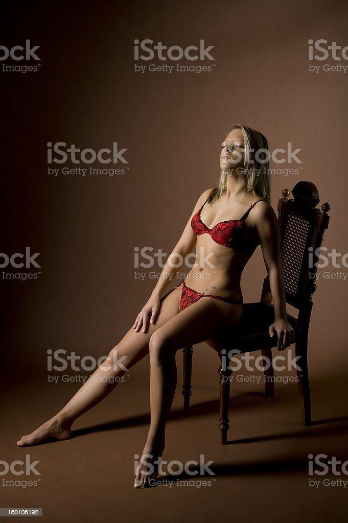 Erotic royalty-free stock photo