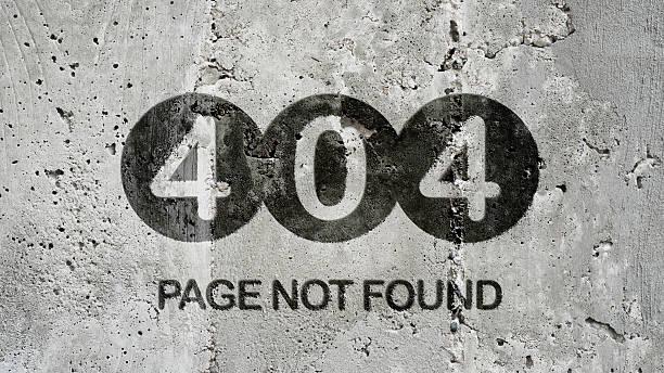 fehler 404  - fehlermeldung stock-fotos und bilder