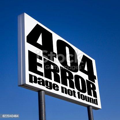 istock 404 error page 622040464