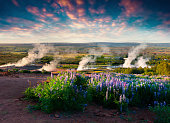 istock Erupting of the Great Geysir lies in Haukadalur valley 682067040