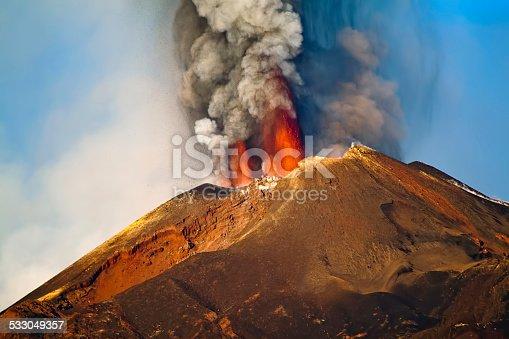 Paroxysm of Etna - 26 October 2014 - Sicily